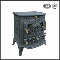 high quality cast Iron wood stove and fireplace