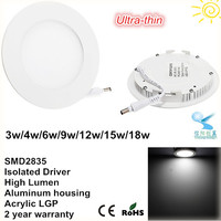 best selling products in america qualified 18w led panel light round led panels
