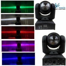 Moving Head Stage Lighting Double Face Endless Rotating RGBW LED Beam DJ Controller Mini party light