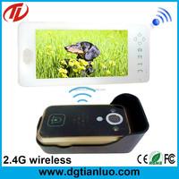 Video intercom with keypad outdoor camera video door phone gate design