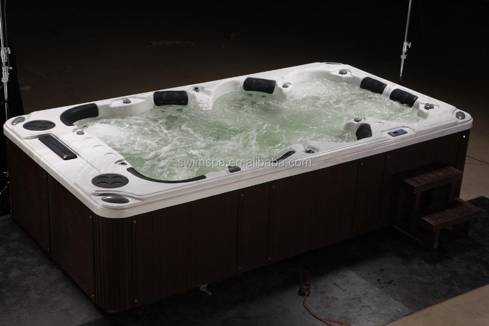 Wholesale garden massage acrylic balboa hot tub 8person for Whirlpool garden tub