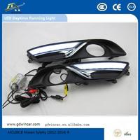 (2012) Wholesale 12V led fast selling LED Daytime Running Light suitable for Nissan Sylphy system