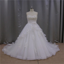 2015 Shimmering fish tail hand made bridal gown