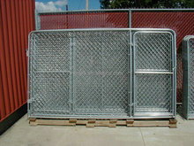 cheap chain link dog kennels / dog kennels with top cover