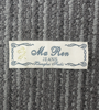 high end luxury gold thread clothing woven style woven label