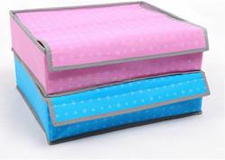 Yiwu best sell Nonwoven Fabrics Underwear Bras Socks Storage Organizer Box Set