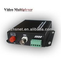 Desktop high quality 1 Channel Digital Video to Fiber Optical Converter