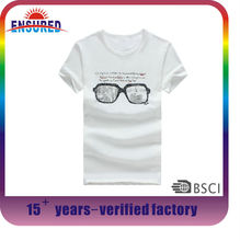 plain chinese style t-shirts garments buyer for stock lot with low price and high quality