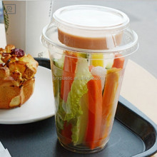 custom pop plastic dessert cup with lids/OEM pop clear plastic ice cream cup with lids manufacturer/wholesale cup in shenzhen