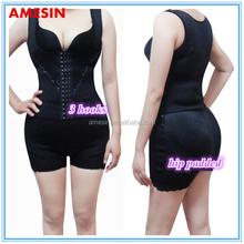 AMESIN Designer Suits for Girls 3 Hooks Girls Waist Shaper Hip Padded