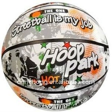 wholesale promotional Customized color wholesale blank basketball