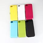 Alta capacidade 4200 mah para o iphone 5 caso carregador de bateria( 5g 5c 5s)