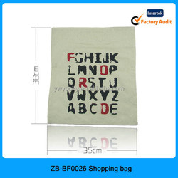 Casual day use promotional black color no handle flat plain canvas tote bag blank