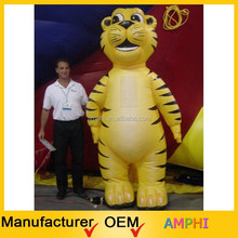 Popular High Quality Decoration Advertising Inflatable Tiger Costume