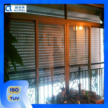 exteriior alluminio avvolgibili finestre