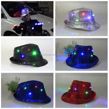 Cheap design multi color children bowler hat wholesale kid rock fedora hat
