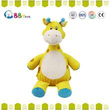 High quality plush toys custom cute stuffed plush giraffe for baby toy animal