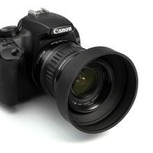 58MM WIDEANGLE LENS HOOD,METAL,ALUMINIUM ALLOY,BLACK K&F Camera Accessories