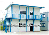 steel structure prefab container house, camp
