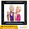 High brightness acrylic slim crystal light display box picture frame tabletop light box for advertising