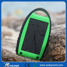 5V/7000mAh Comfortable Hand Feeling Solar Battery Charger YD-T018,Mobile Solar Charger