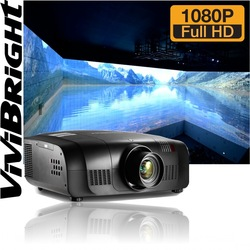Vivibright Perfect Image 3D Beamer 10000 Lumens Business Projector HDMI Projector 1920*1200 Outdoor Video Projectors China
