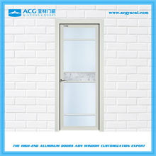 favorable price Scratch resistant frosted glass practical aluminum door and window
