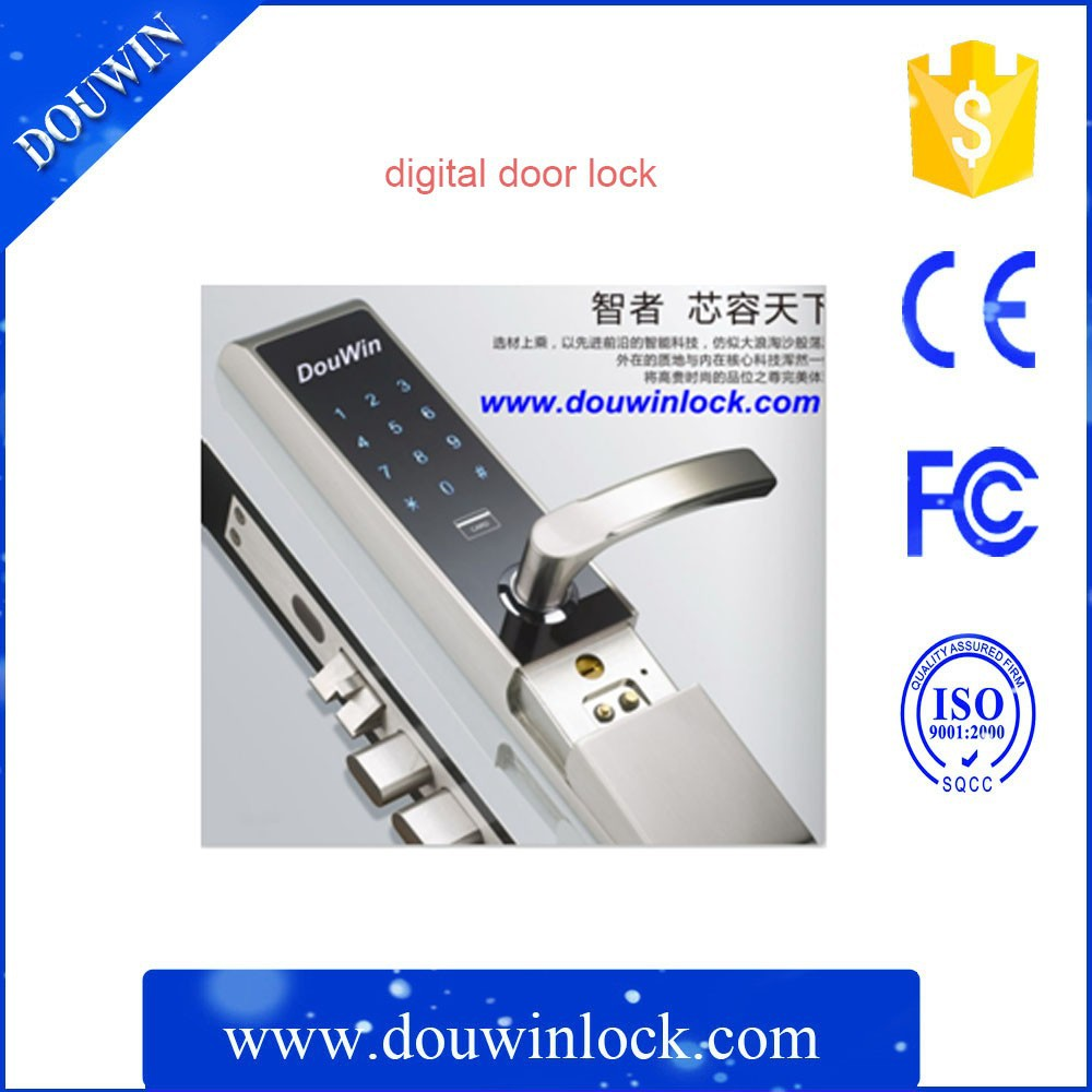 touch digital keypad door lock for access control system buy keypad door lock access control. Black Bedroom Furniture Sets. Home Design Ideas