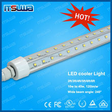 18w 22w 26w led light fitings 4ft freezer rated UL cUL DLC listed cooler door led light