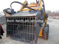 HCN 0310 skid steer bobcat concrete bucket mixer