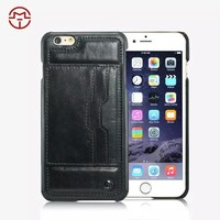 2015 HOT SELLING wallet leather case for iphone 6 for iphone 6 plus