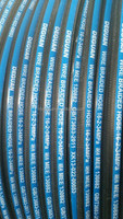 SAE100R1 industrial reinforeced synthic rubber hose used for hydraulic fluids