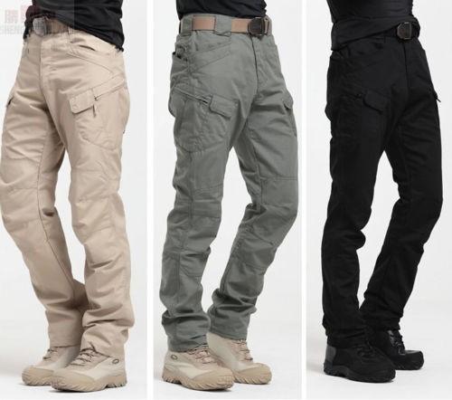 Pantalones vaqueros de la parte inferior holgados pantalones de sudor