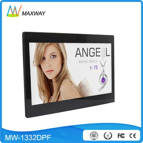 Ucuz En İyi Elektronik Display 13 inç HDMI Dijital Fotoğraf Çerçevesi RoHS