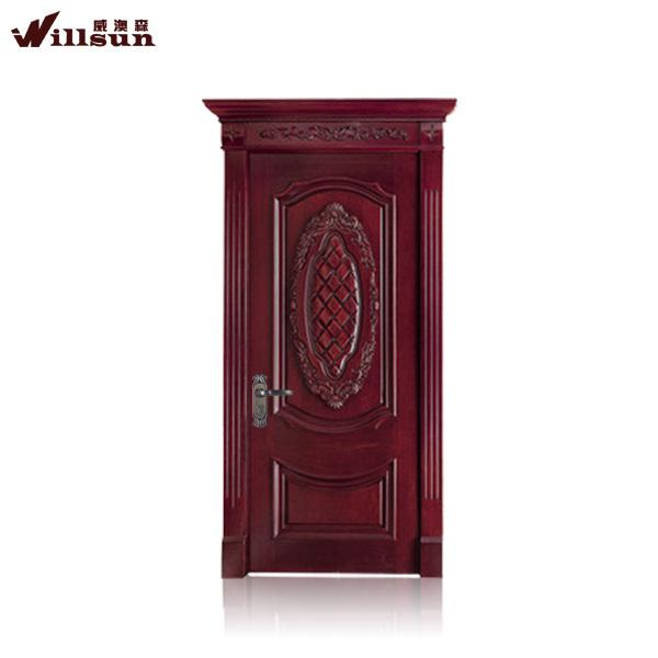 Once Teak Wood Door Designs Kerala