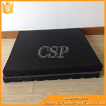 Anti-slip safe colorful gym rubber floor, fitness room cheapest outdoor rubber tile
