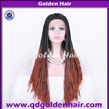 Lady Beauty Kanekalon Synthetic Lace Front Box Braid Wig