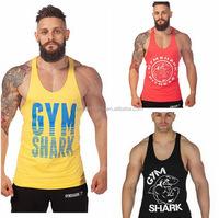 100 cotton mens gym bodybuilding High quality sex doll for men Gym Singlets Tank tops