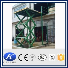 2000kg stationary hydraulic table lifter
