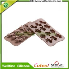 Decorating molds non-Toxic Food Grade Silicone Baking Cake & Muffin Mould