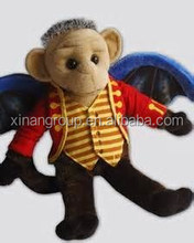 CE certificated plush stuffed animal wholesale flying monkey wholesale
