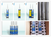 general type silicone sealant/glass glue with earthquake resistance