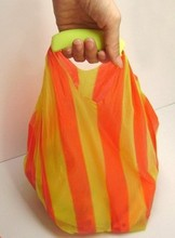 colorful silicone shopping bag handle