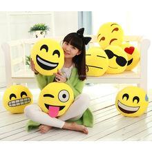 Fashion Design Pillow,Wholesale Cheap Emoji Pillow,Cotton Smiley Face Soft Toys