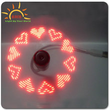 promotional gifts advertising mini usb fan with customized led message