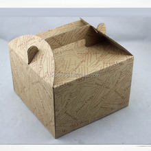 printed cake box , corrugated cake box , paper gift box for cake packaging