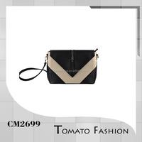 ecru and black envelope design clutch bag cross body handbags