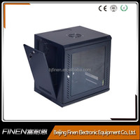 """9u network cabinet 19"""" quick open wall mount rack office and home use"""