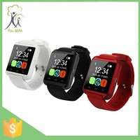 Cheap cost Factory Original china supplier U8 touch screen smartwatch phone for ios and android