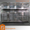 Customizable modular stainless steel folded dog cage SED1-001S